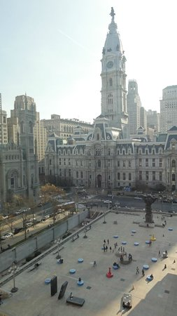 Le Meridien Philadelphia: Picture taken from our room