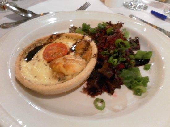 Restaurant Cruiser: Goats Cheese Tarte