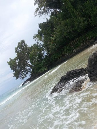 Bocas Island Lodge: Playas salvajes