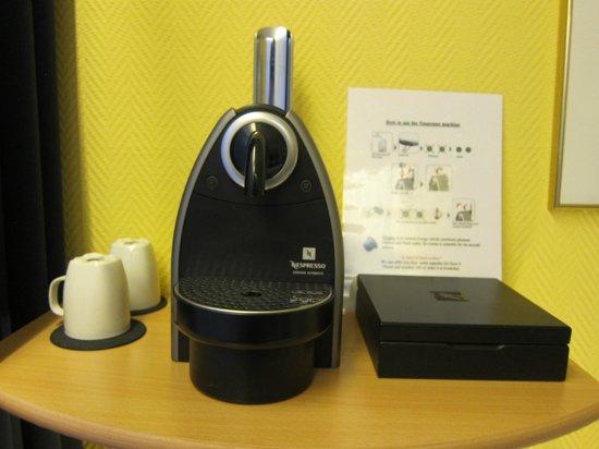Hotel Fita: nespresso machine 