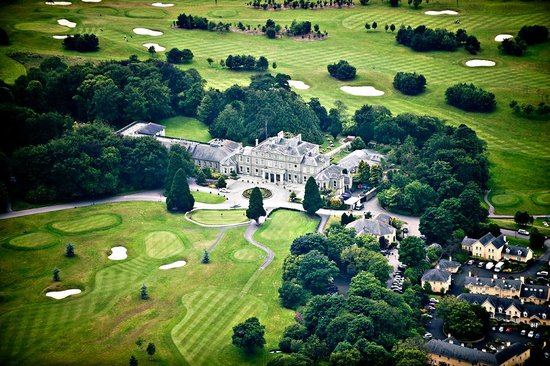 Faithlegg House Hotel & Golf Resort: Overview of Hotel rom the Golf CourseGrounds