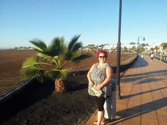 Hipotels La Geria: outside the hotel