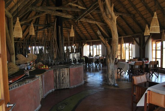 Mariental, Namibia: Dining room