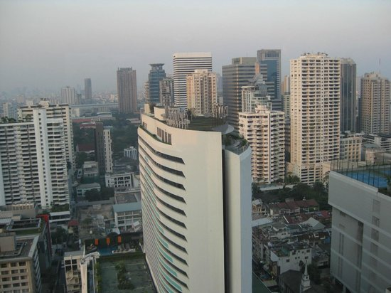 Sheraton Grande Sukhumvit, A Luxury Collection Hotel:                   View from our Room