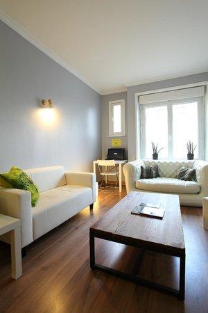 Hôtel Little Lodge : Salon