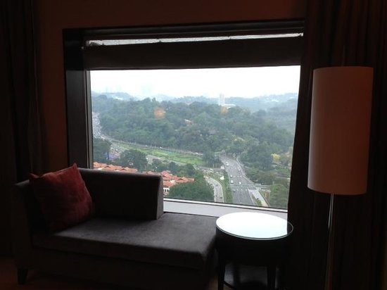 Hilton Kuala Lumpur:                   View