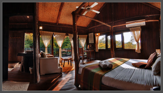 Pugdundee Safaris Tree House Hideaway: Tree House Bed Room