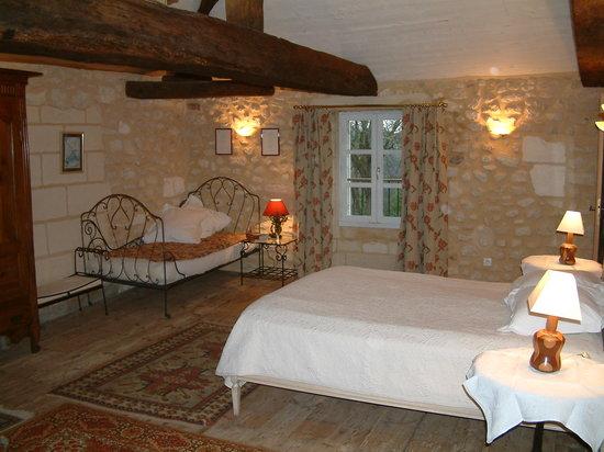 Chambres d'hotes Saint Emilion Bordeaux: Beau Sejour: Chambre Plaisance
