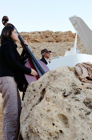 Jebil National Park, Tunisia: Camp Mars - Rencontre Musique et Silence