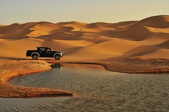 Jebil National Park, Tunisia: Camp Mars, excursion lac Hawidhat Erreched