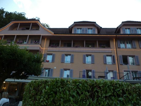 Hotel Seeburg:                   hotel from outside