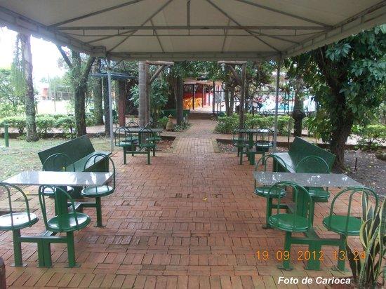 Hostel Paudimar Campestre:                   Área de descanso