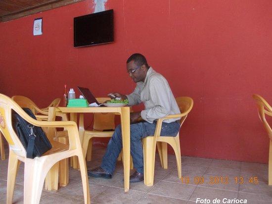 Hostel Paudimar Campestre:                   Aguardando meu almoço