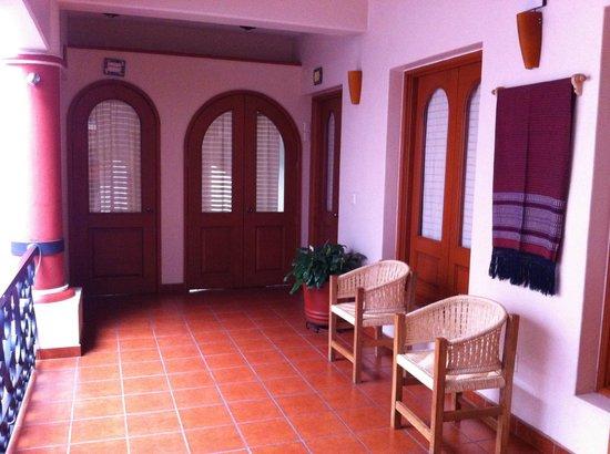 Hotel Oaxaca Mágico: hotel lobby