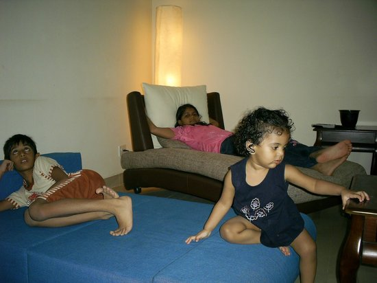 Amrita Towers:                   Living Room