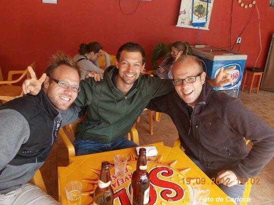 Hostel Paudimar Campestre:                   Hóspedes Alemães