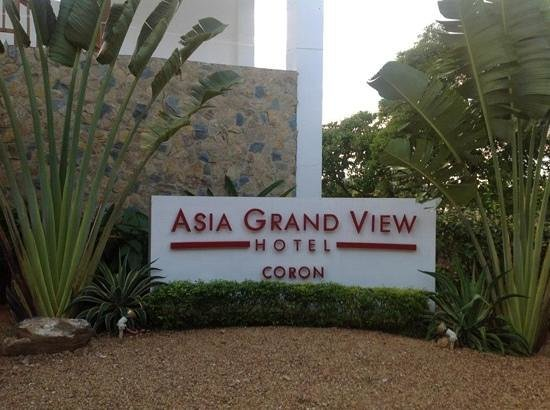 Asia Grand View Hotel:                   front of hotel