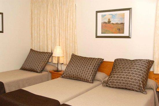 Hotel Florido: Habitación estandar triple