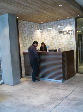 Hotel Sarum: Reception