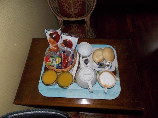 BHR Boutique Hotel Locanda Ca'Valeri : colazione in camera