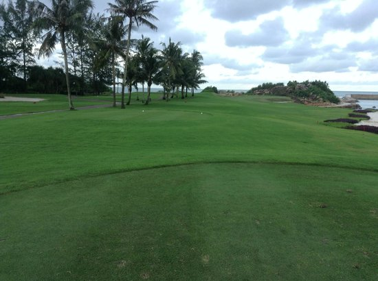 Bintan Lagoon Resort Golf Club:                   Jack Nicklaus Course, Loch 12