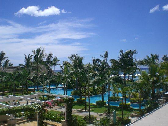 Sugar Beach Golf & Spa Resort:                   View from hall