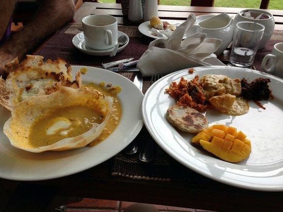 โรงแรมเม้าท์ ลาวิเนีย:                   Breakfast!