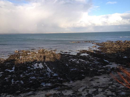 Caithness and Sutherland, UK:                   Sea view by Sea Otter Cottage, Ackergill Haven, Wick