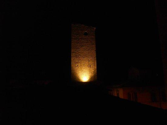 B&B Tra Le Torri: Dal lucernario... di notte!