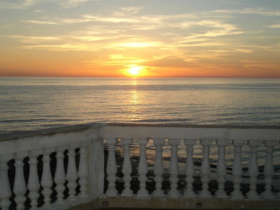 B&B La Casa di Montalbano: il tramonto - the sunset