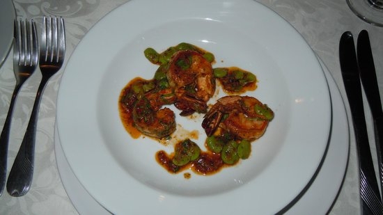 Dar Roumana : fabulous prawns/gambas