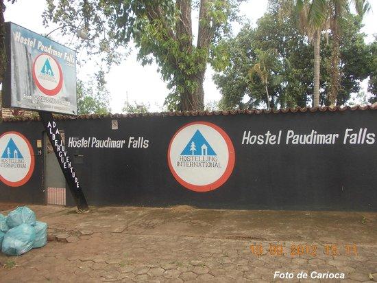 Hostel Paudimar Falls: Fachada do Paudimar Falls