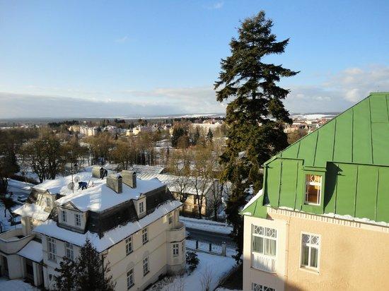 Holistic Spa Hotel La Passionaria:                   Вид из окна сьюта (февраль 2012)