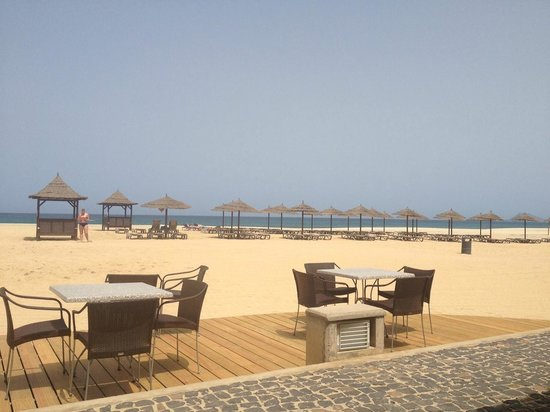 Melia Tortuga Beach Resort & Spa:                   View from the beach bar
