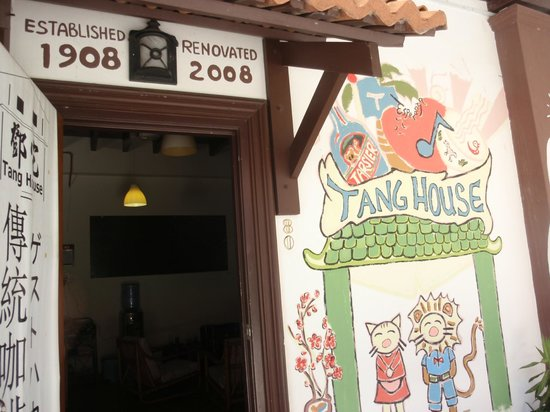 Tang House: the entrance to reception