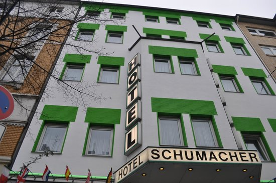 Hotel Schumacher Düsseldorf: facciata esterna