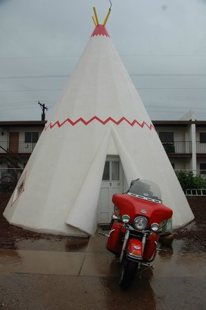 Wigwam Motel: Morning at the WigWam