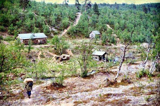 Lemmenjoki National Park:                   Goldsuchen am Lemmenjoki