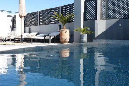 Riad 64 : piscine