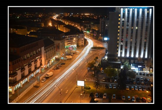 Ramada Sibiu:                   View from the eleven floor of the Hotel