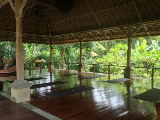 Puri Sunia Resort:                   Yoga