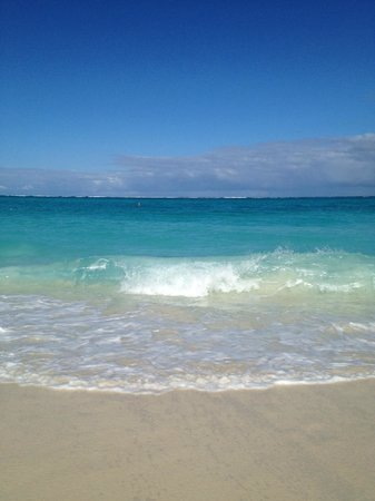 The Sands at Grace Bay:                                                       Gorgeous colors