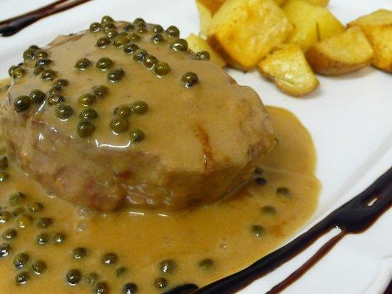 San Severo, Italia: uno dei nostri secondi piatti di carne