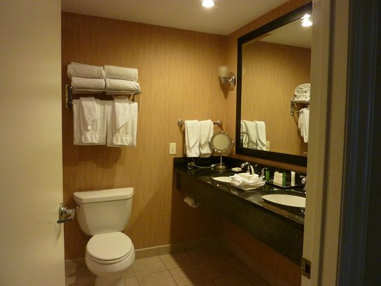 Hilton Suites Ocean City Oceanfront:                   Bathroom