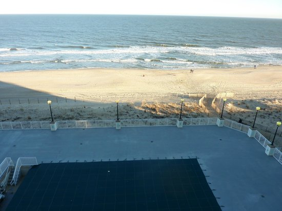 Hilton Suites Ocean City Oceanfront:                   View