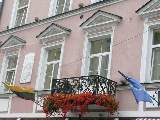Гостиница Нарутис: frente del primer piso