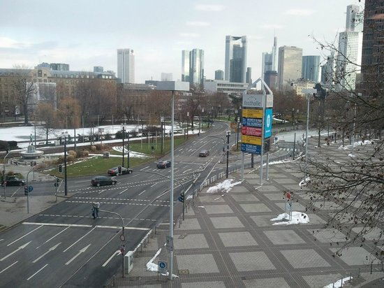 Maritim Hotel Frankfurt / Main:                   View