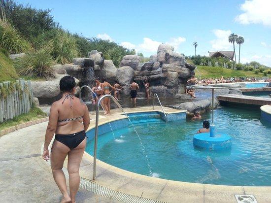 Victoria del Agua Parque Acuatico y Termal: Termas de agua salada