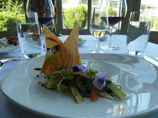 Chateau Yering Hotel: ディナー