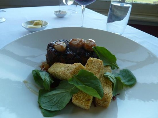 Chateau Yering: ディナー
